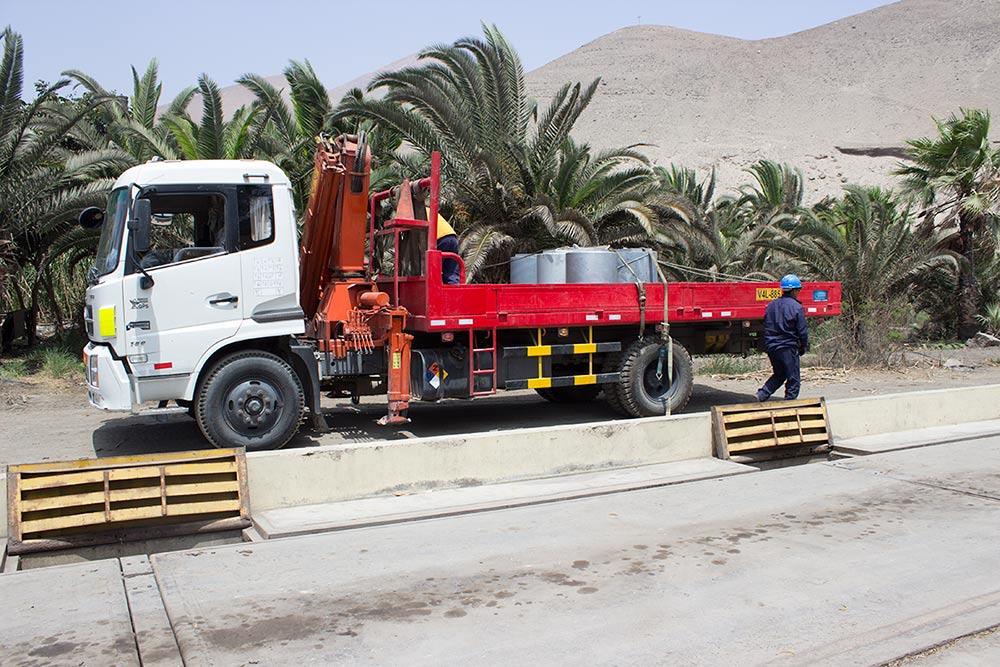 Balanzas Pesa Camiones