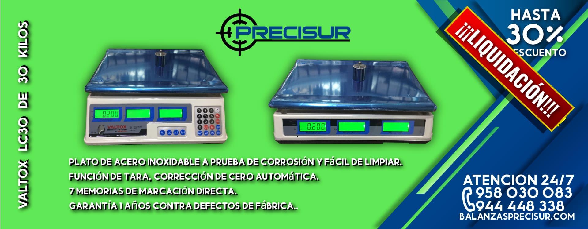 Oferta Balanza Valtox LC30 de 30 Kilos