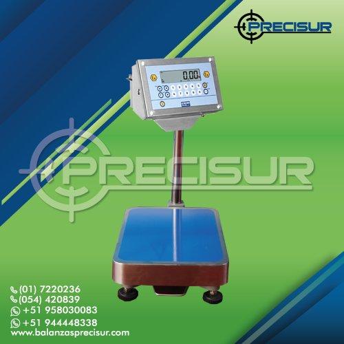 Calibración de Balanza Antiexplosiva DINI ARGEO AE de 150 Kilos