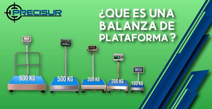 ¿Qué es una balanza de plataforma?
