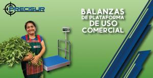 Balanzas de plataforma comercial
