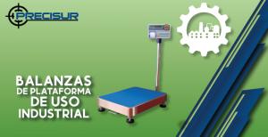 Balanzas de plataforma de uso industrial