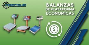 Balanzas de plataforma económicas