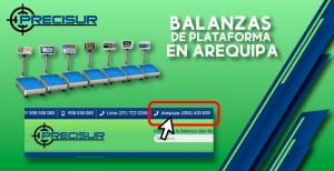 Balanzas de plataforma en Arequipa