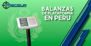 Balanzas de plataforma en Perú