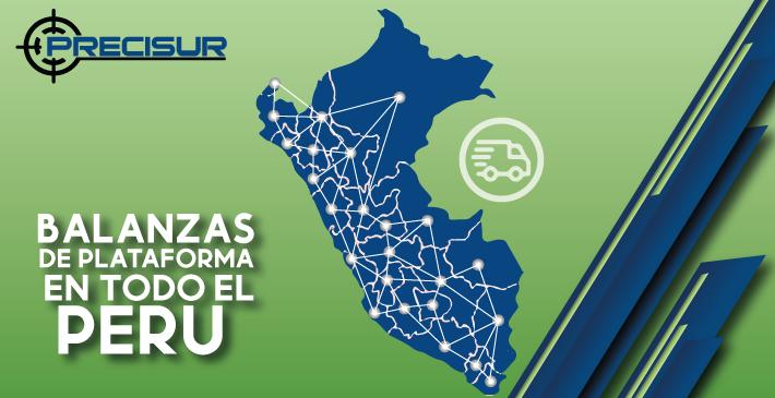 Balanzas de plataforma en todo el Perú