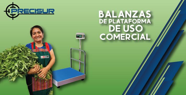 Balanzas de plataforma para uso comercial
