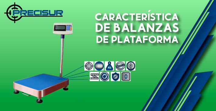 Características de las balanzas de plataforma