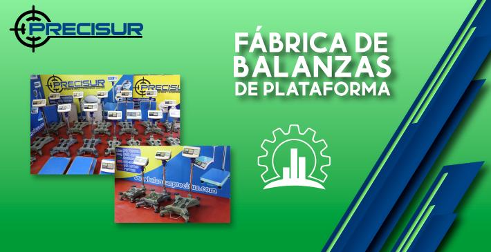 Fabrica de balanzas de plataforma