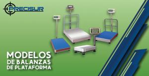 Modelos de balanzas de plataforma
