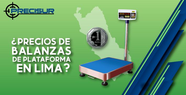 Precios de balanzas de plataforma en Lima