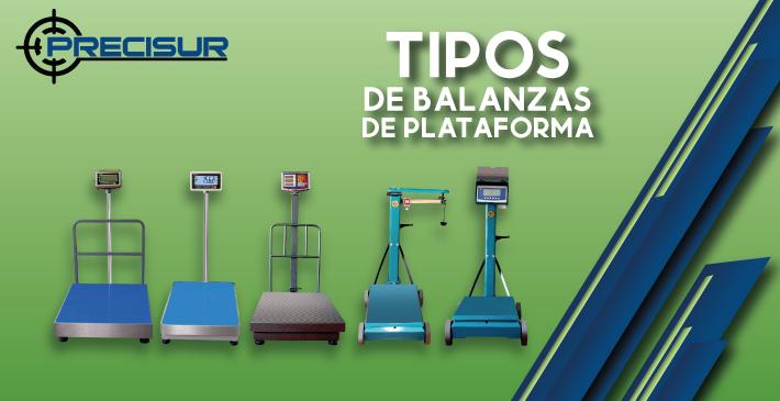 Tipos de balanzas de plataforma