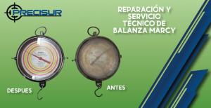 Reparación y servicio técnico de balanzas marcy